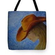 Cowgirl Tote Bag