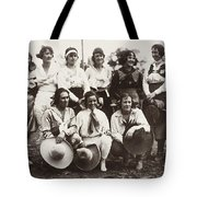 Cowgirls, 1910 Tote Bag
