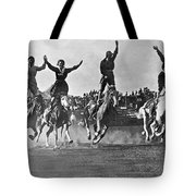 Cowgirls At The Rodeo Tote Bag