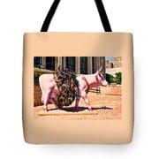 Cow Parade N Y C 2000 - Prima Cowlerina Tote Bag