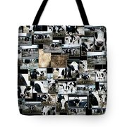 Cows Collage Tote Bag