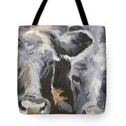 Cows In Waiting Tote Bag