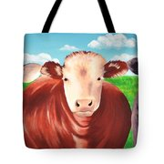 Cows Out To Pasture Tote Bag