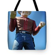 Cowtown Cowboy Tote Bag