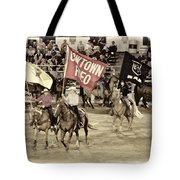Cowtown Grand Entry Tote Bag