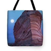 Coyote Buttes Moonrise Tote Bag