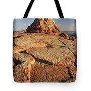 Coyote Buttes Rock Formation Tote Bag