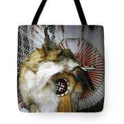 Coyote Headdress 1 Tote Bag