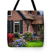Cozy Corner. Giethoorn. Netherlands Tote Bag