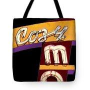 Cozy Mo - Black Tote Bag