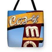 Cozy Mo - Blue Tote Bag
