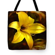Cozy Yellow Daylily Tote Bag