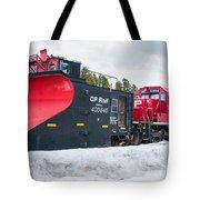 Cp Rail Plow Tote Bag