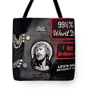 Cpr - Christian Prayer Riders Tote Bag
