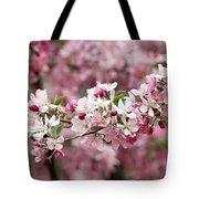 Crab Apple Blossom Tote Bag