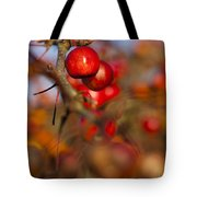 Crab Apple Bright Tote Bag