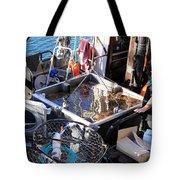 Crab Boat Tote Bag