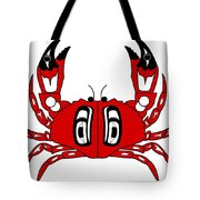 Crab Dungeness Tote Bag