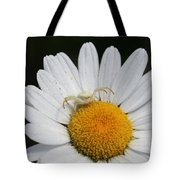 Crab Spider On Daisy Tote Bag