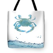 Crab Strolling Around Tote Bag