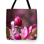 Crabapple Bud Tote Bag