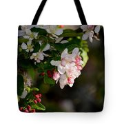 Crabapple Intricacies Tote Bag