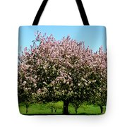 Crabapple Orchard Tote Bag