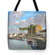 Crabbing - Wells-next-the-sea Norfolk Tote Bag