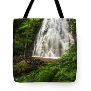 Crabtree Falls Tote Bag by Photography  By Sai