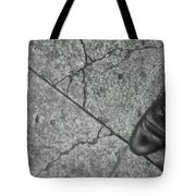 Crack In The Pavement Tote Bag