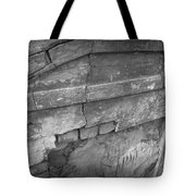 Cracked Tote Bag