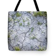 Cracked Earth Background Tote Bag