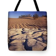 Cracked Mud - Sand Ripples Tote Bag