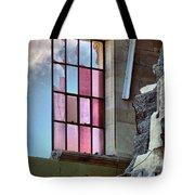 Cracked Pink Tote Bag