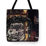 Cracked Someone Tote Bag