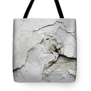 Cracked Stucco - Grunge Background Tote Bag