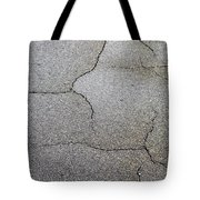 Cracked Tarmac Tote Bag