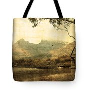 Cradled By Time Tote Bag