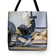 Craftsman Work Table Tote Bag