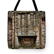 Craigsmillar Castle Fireplace Tote Bag