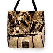 Crammed Floors In Albarracin Tote Bag