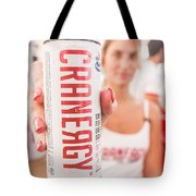 Cranberry Energy Juice  Tote Bag