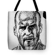 Jason Statham Tote Bag
