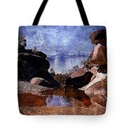 Cranky Rocks Tote Bag