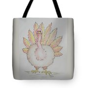 Cranky Turkey Tote Bag