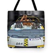 Crash Dummy Bear Tote Bag