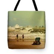 Crash Of The Waves Tote Bag