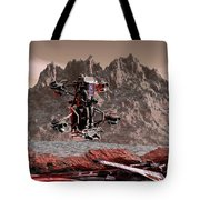 Crash Site Located Tote Bag