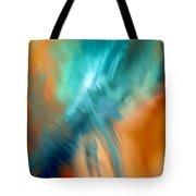 Crashing At Sea Abstract Painting 4 Tote Bag