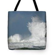 Crashing Surf Tote Bag